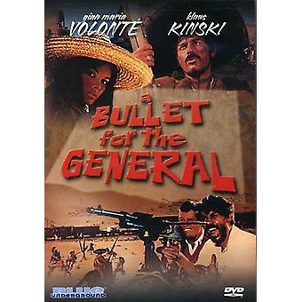 Bullet for General [DVD] USA importerer
