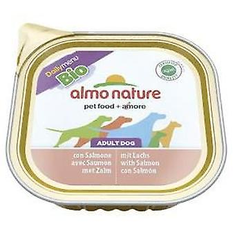 Almo nature Daily Menu Bio Salmon (Dogs , Dog Food , Wet Food)