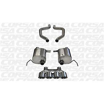CORSA Performance Axle Back Exhaust 14766 Polished Fits:CHEVROLET 2015 - 2015 C