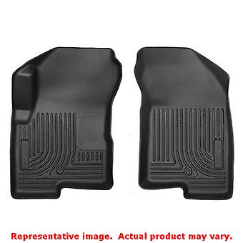 Husky Liners 13001 Black WeatherBeater Front Floor Line FITS:DODGE 2007 - 2012