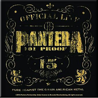 Pantera Fridge Magnet 101 Proof band logo new Official 76mm x 76mm