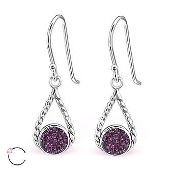 Tear Drop crystal from Swarovski® - 925 Sterling Silver Earrings