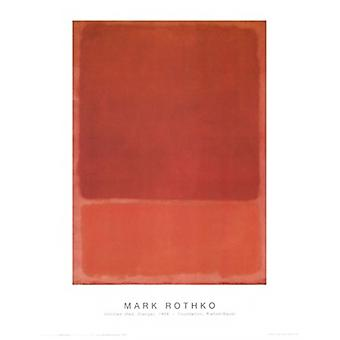 Untitled Poster Poster Print by Mark Rothko