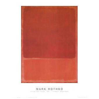 Без названия Плакат Плакат Печать, Марка Ротко