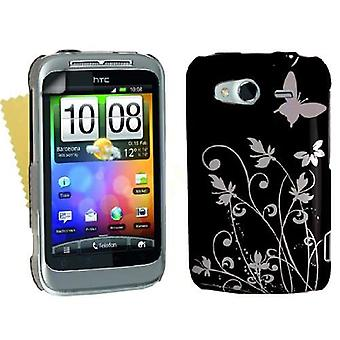 Yousave Accessories HTC Wildfire S IMD Case - Black