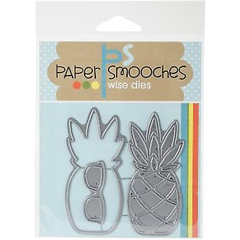 Paper Smooches Dies-Pineapple 2 A1D380