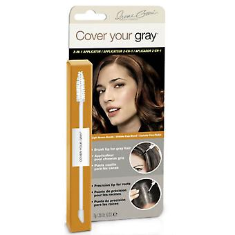 Cover Your Gray 2-in-1 Wand Light Brown