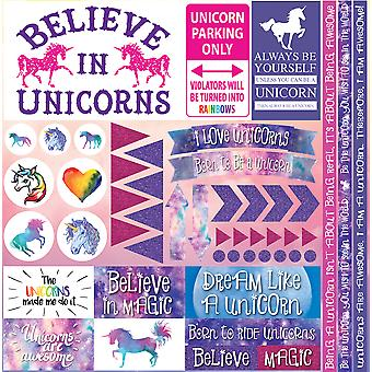Unicorn Collection Elements Stickers 12