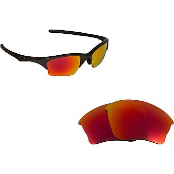 adfd8eb7182 Half Jacket XLJ Replacement Lenses Polarized Red by SEEK fits OAKLEY  Sunglasses