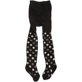 Childrens/Baby Girls Glitter Stripe/Polka Dot Design Tights With Elastane