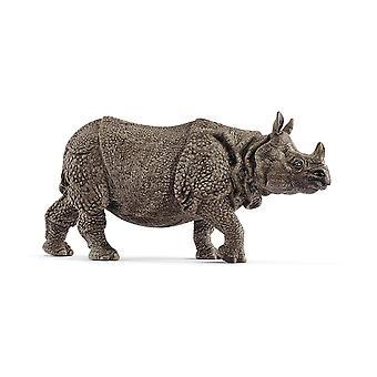 Schleich vilda djur indisk noshörning