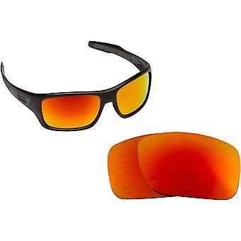 Best SEEK OPTICS Replacement Lenses for Oakley TURBINE Red Mirror