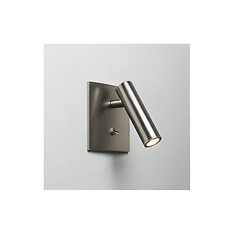 Enna Switched Square Nickel Led Wall Light - Astro Lighting 7362