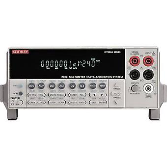Bench multimeter Keithley 2700/7700/E Calibrated to: Manufacturer's standards (no certificate)
