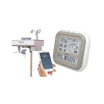 Oregon scientific precisione All-In-one bianco stazione meteo WMR 500
