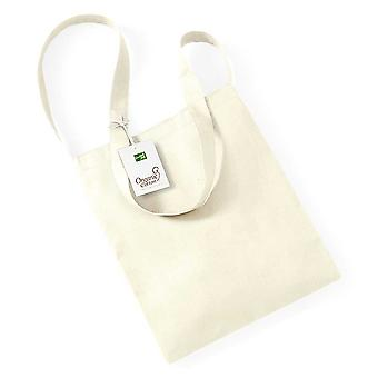 Westford Mill Ladies Organic Colours Cotton Sling Tote Bag One Size