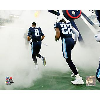 Tennessee Titans 2017 Team Introduction Photo Print