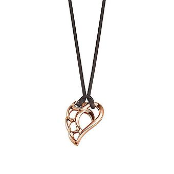 ESPRIT women's chain necklace stainless steel Rosé smooth chic ESNL12387B800