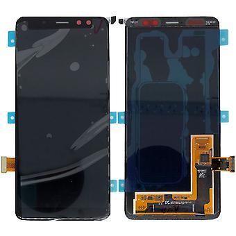Samsung LCD complet présentoir pour Galaxy A8 A530F 2018 GH97 21406A noir