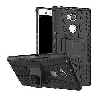 Гибридные случай 2 кусок SWL робот черный для Sony Xperia XA2 ультра карманные рукав защиты