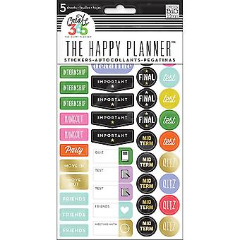 Create 365 Happy Planner Stickers 5/Sheets -School College
