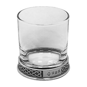 Celtic Pewter Whisky Glass Single Tumbler