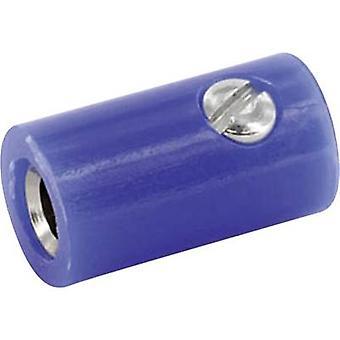 econ connect HOKBL Jack socket Socket, vertical vertical Pin diameter: 2.6 mm Blue 1 pc(s)