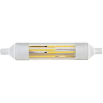 DioDor LED EEC A+ (A++ - E) R7s Tubular 6 W = 50 W Cool white (Ø x L) 20 mm x 118 mm Filament 1 pc(s)