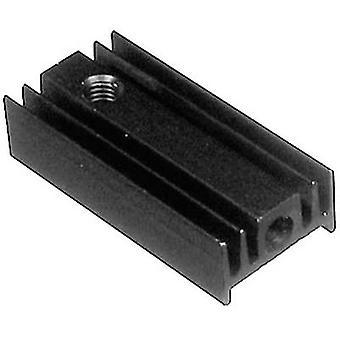 Fin heat sink 40 C/W (L x W x H) 25 x 12 x 6.5 mm TO 220 ASSMANN WSW V5629G
