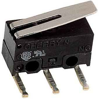 Cherry Switches Microswitch DG13-B3LA 125 V AC 3 A 1 x On/(On) Control unit: IP40/connections: IP00 momentary 1 pc(s)