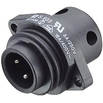 Binder 09-4223-00-04 Standard Circular Connector Series 693 Nominal current (details): 16 A Number of pins: 3 + PE
