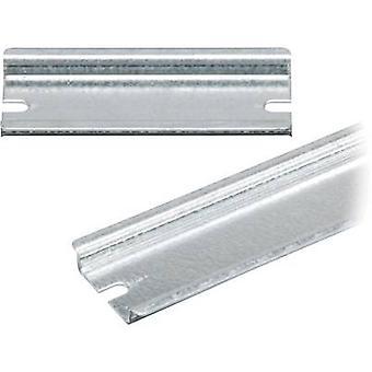 Fibox EK EKV 32 DIN Schiene keine Löcher Stahl Platte 335 mm 1 PC