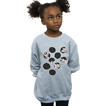 Disney Mädchen Dumbo Peekaboo Sweatshirt