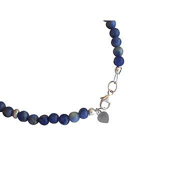 Lapis lazuli gemstone armbånd armbånd lapis lazuli armbånd 925 sølv