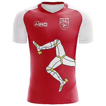 2018-2019 Isle of Man Home Concept Football Shirt - Kids