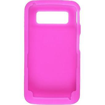Wireless Solutions Silicone Gel Case for Samsung Code SCH-I220 - Dark Pink