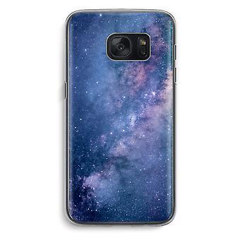 Samsung Galaxy S7 Transparent fodral (Soft) - nebulosan