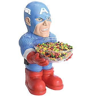Captain America Candy Bowl Holder Halbstatue 40 cm mit Schüssel