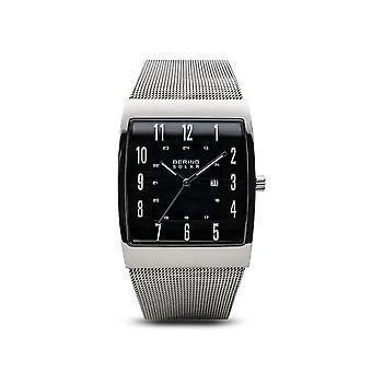 BERING - wrist watch - mens - solar - shiny silver - 16433-002