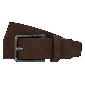 ¡JOOP! Correa de cuero cinturones hombre cinturones Brown 7512