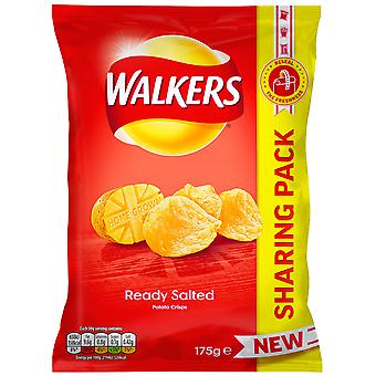 Wanderer bereit gesalzene Familienpaket Chips