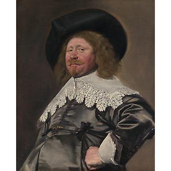 Claes Duyst van Rotterdam, Frans Hals, 50x40cm