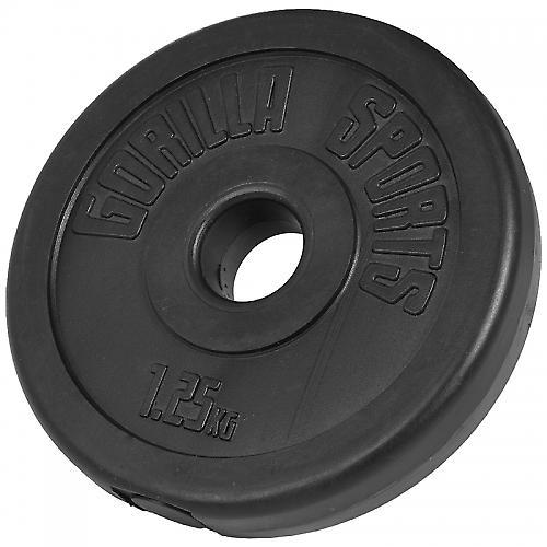 Poids disques en plastique de 1,25 kg