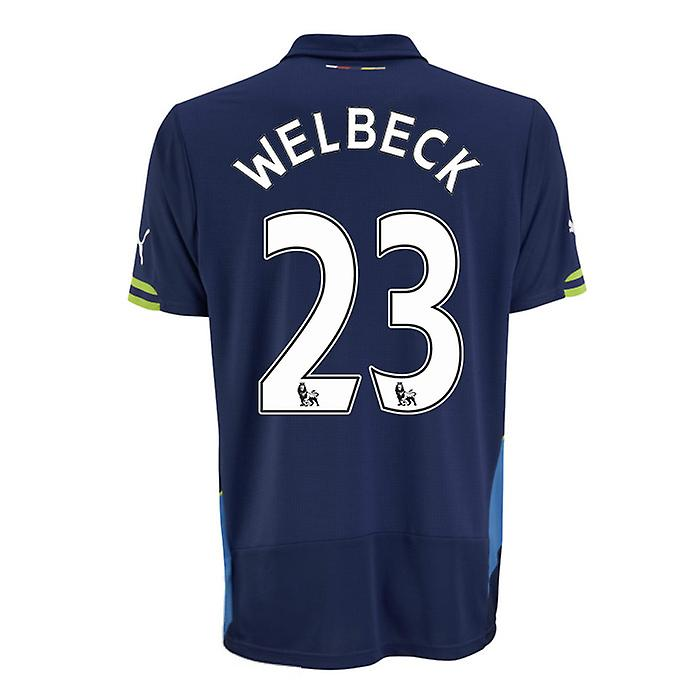 2014-15 Arsenal Third Cup Shirt (Welbeck 23)