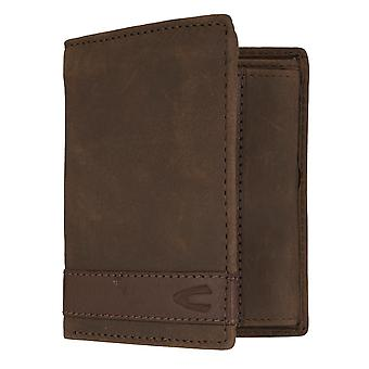 Camel active mens wallet wallet purse with RFID-chip protection Brown 7310