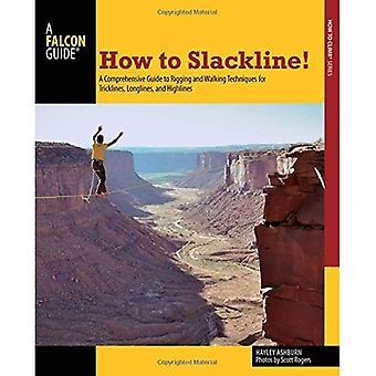 Comment Slackline!: un Guide complet de montage et quelques Techniques pour Tricklines et palangres Highlines