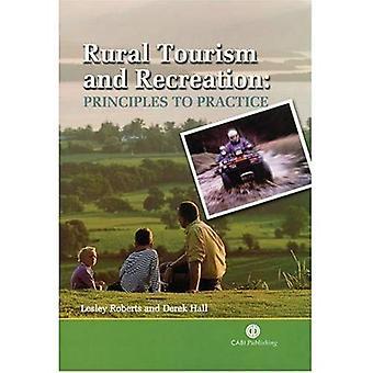 Tourisme rural et des Loisirs: principes à la pratique