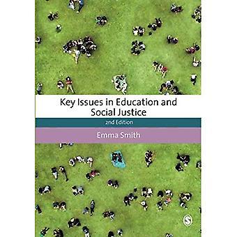Questions clés dans l'éducation et la Justice sociale (études sur l'éducation