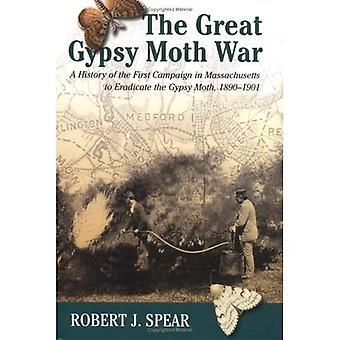 Großen Schwammspinner Nachkriegsgeschichte der ersten Kampagne In Massachusetts, die Gyp zu beseitigen...