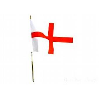 England Hand Held Flag